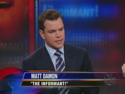The Daily Show with Trevor Noah Season 14 :Episode 117  Matt Damon