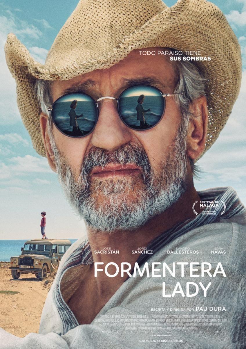 Póster Formentera Lady