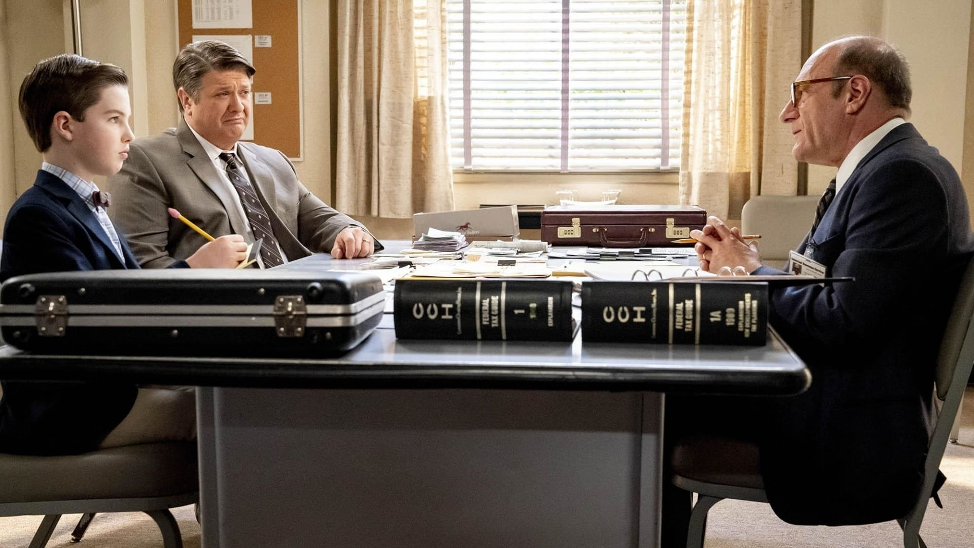 Young Sheldon - Season 4 Episode 14 : Mitch's Son and the Unconditional Approval of a Government Agency