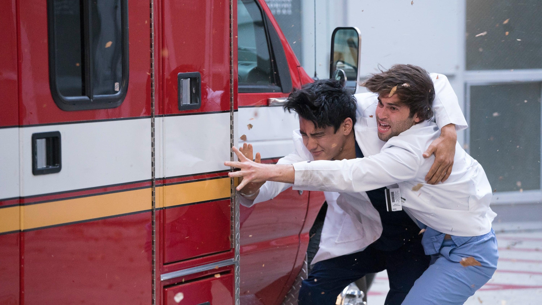 Grey's Anatomy Season 15 :Episode 8  Blowin' in the Wind