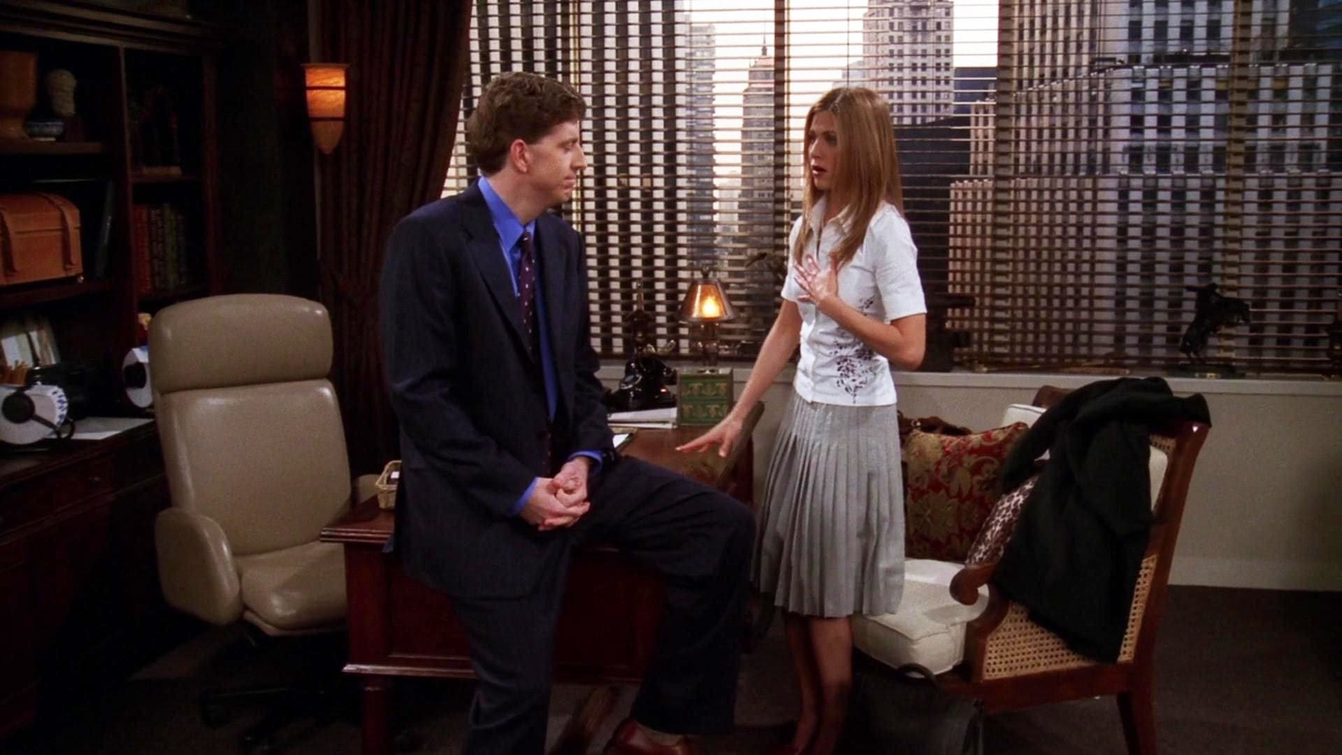 Friends Season 5 :Episode 17  The One with Rachel's Inadvertent Kiss