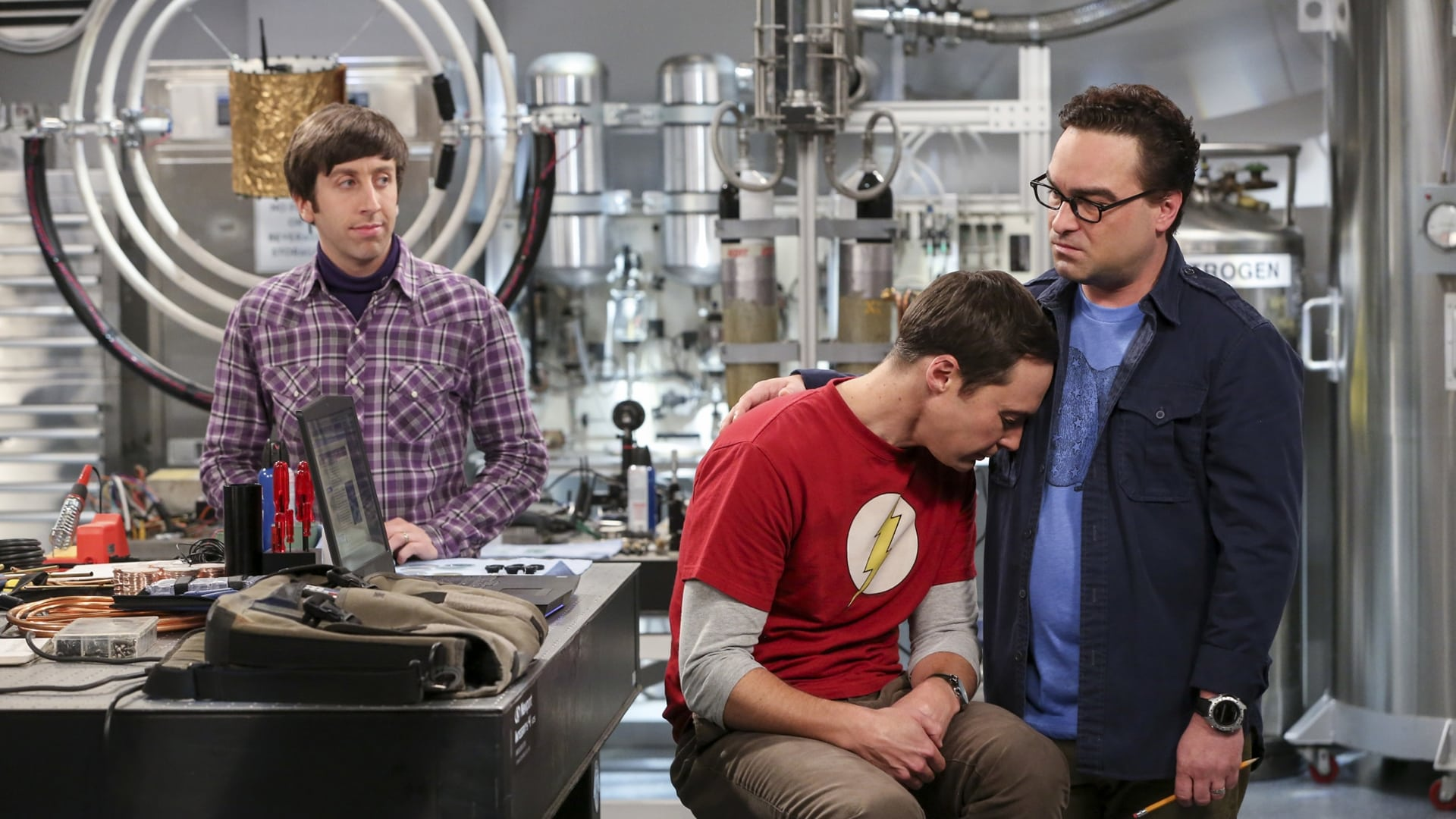 The Big Bang Theory Season 10 : The Dependence Transcendence