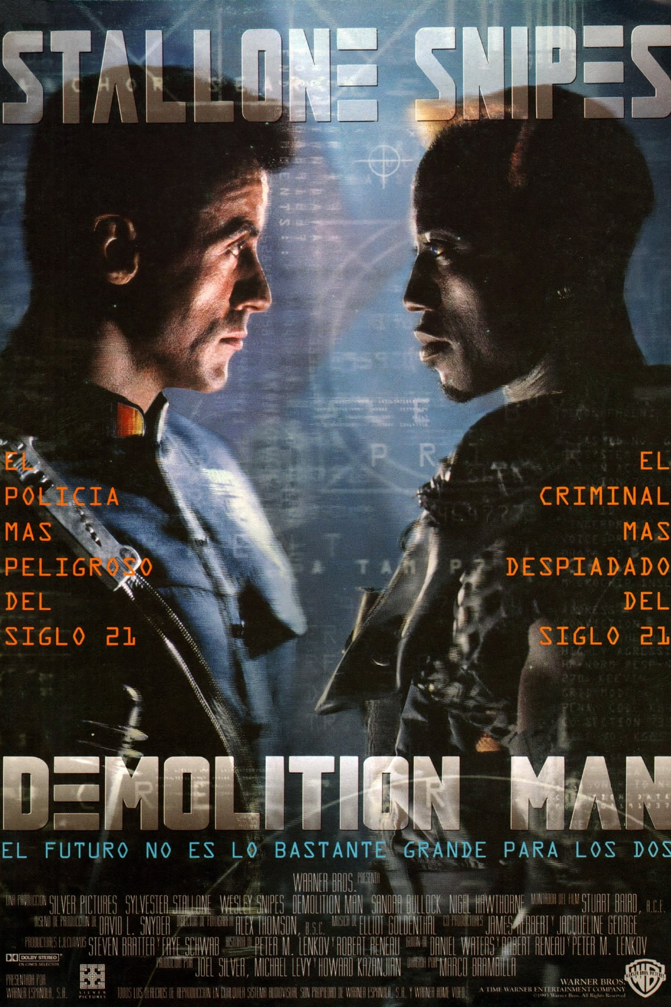 Póster Demolition Man