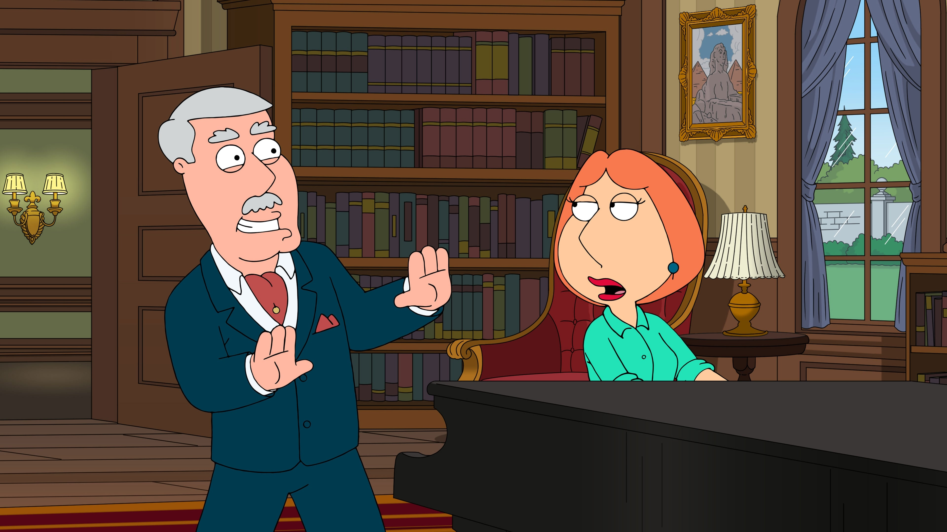 Family Guy - Season 17 Episode 5 : Regarding Carter