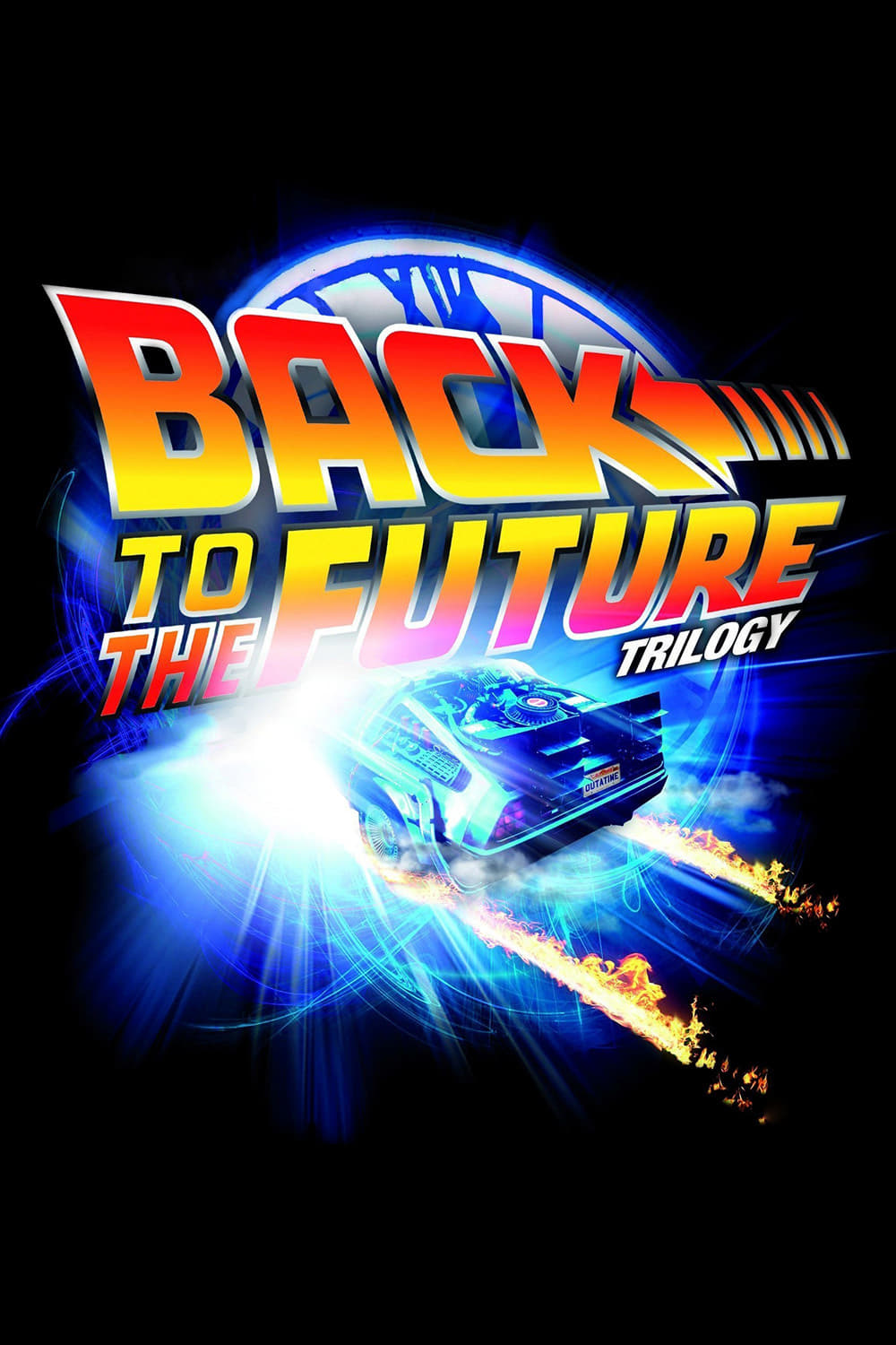 all movies from back to the future collection saga are on