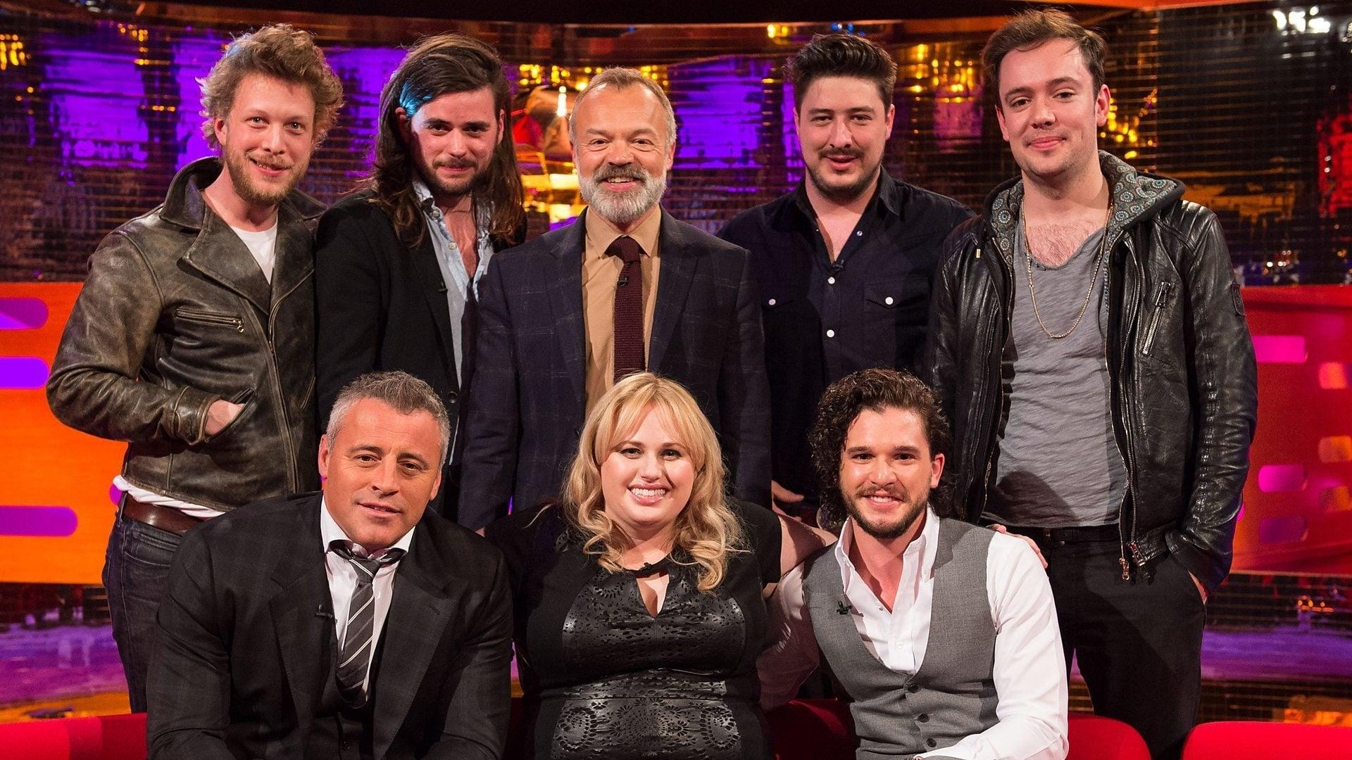 The Graham Norton Show Season 17 :Episode 4  Kit Harington, Matt LeBlanc, Rebel Wilson, Mumford & Sons