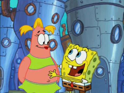 SpongeBob SquarePants Season 4 :Episode 28  That's No Lady