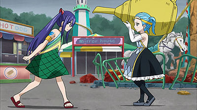 Fairy Tail Season 5 :Episode 34  FILLER - Wendy vs. Aquarius - Spielen im Vergnügungspark!