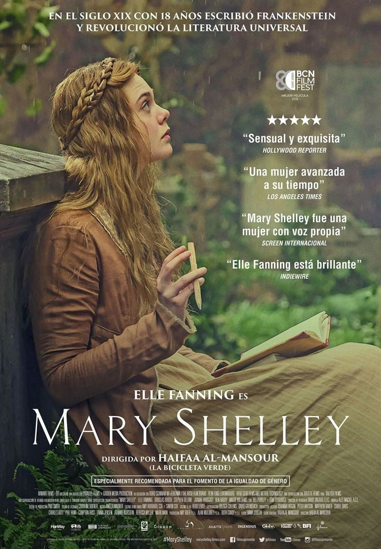 Póster Mary Shelley