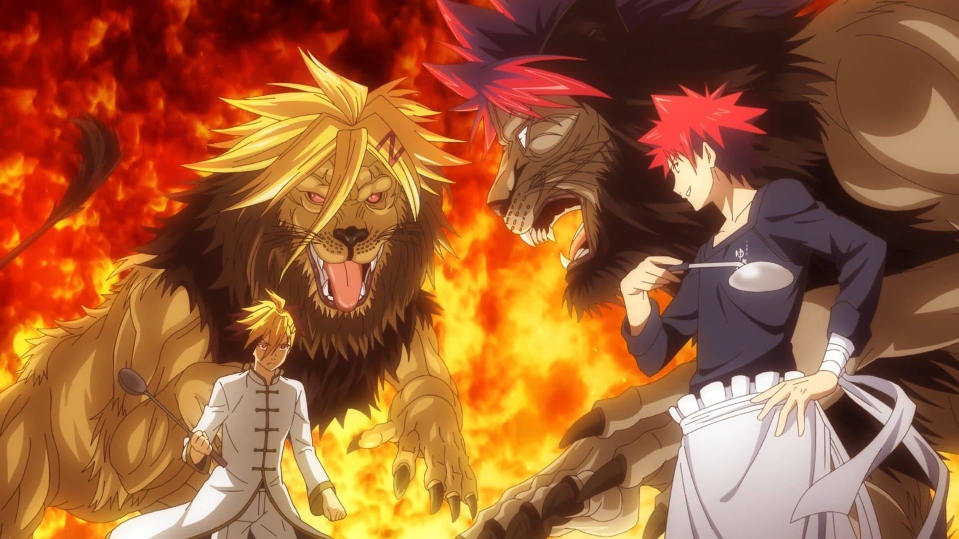 Food Wars! Season 3 :Episode 4  A Pride of Young Lions