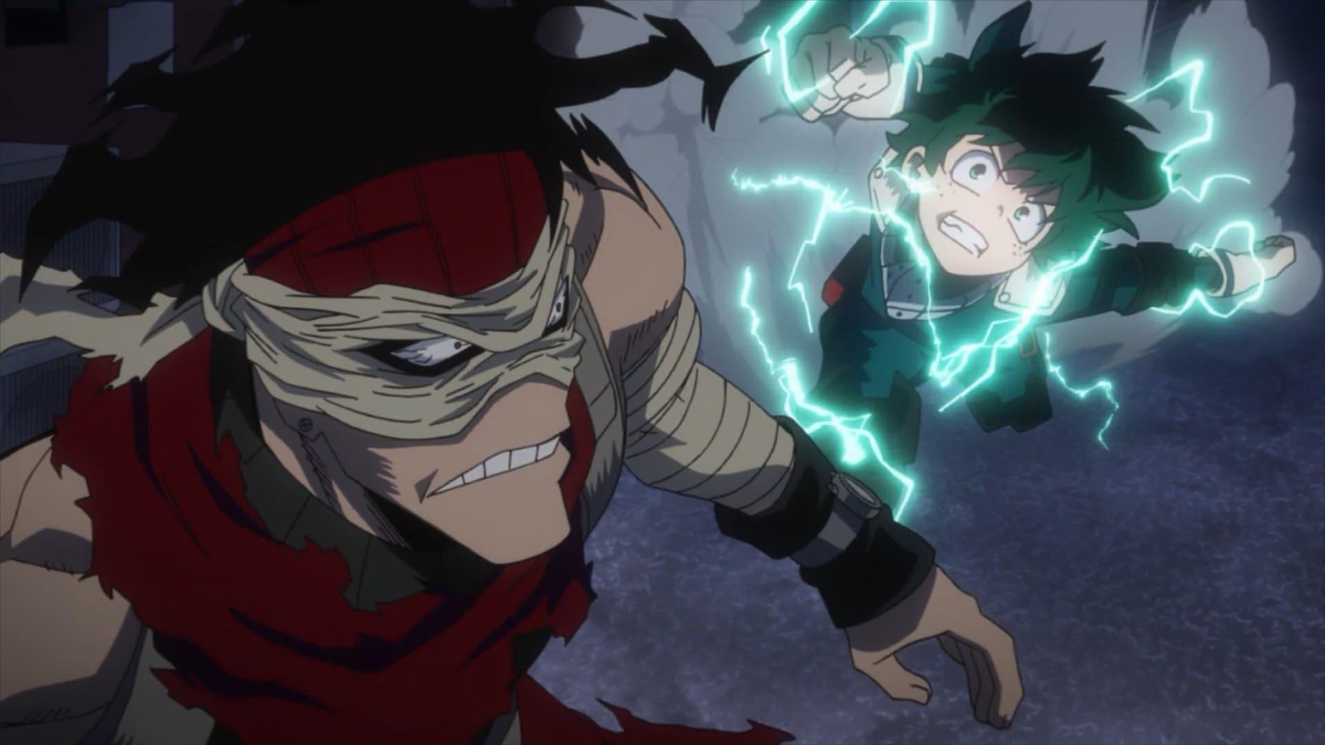 My Hero Academia Season 2 :Episode 16  Hero Killer: Stain vs U.A. Students