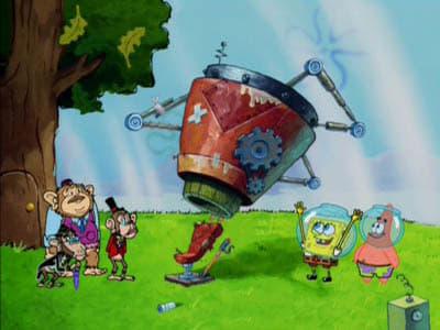 SpongeBob SquarePants Season 4 :Episode 17  Chimps Ahoy!