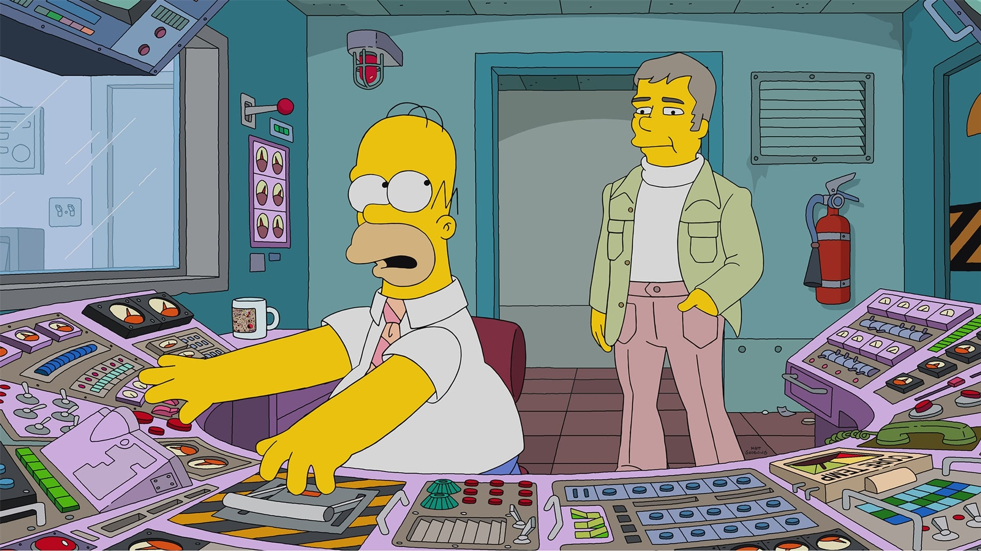 The Simpsons Season 29 :Episode 12  Homer Is Where the Art Isn't
