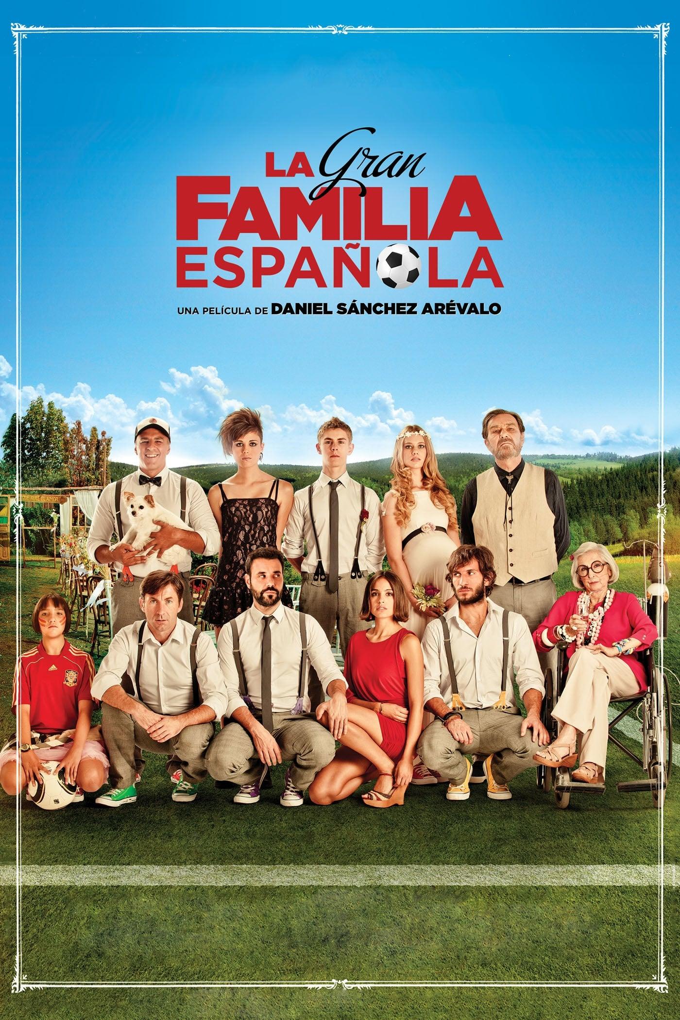 Póster La gran familia española