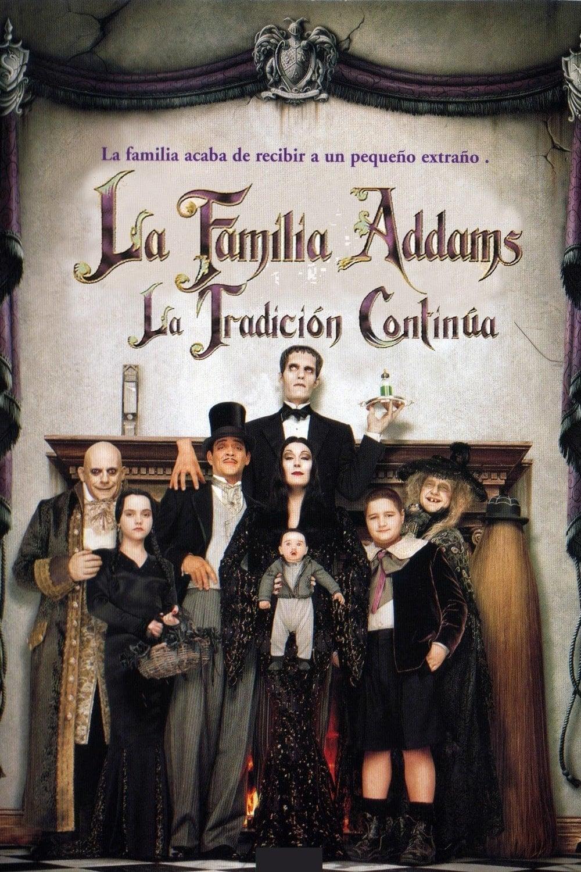Póster La familia Addams: La tradición continúa