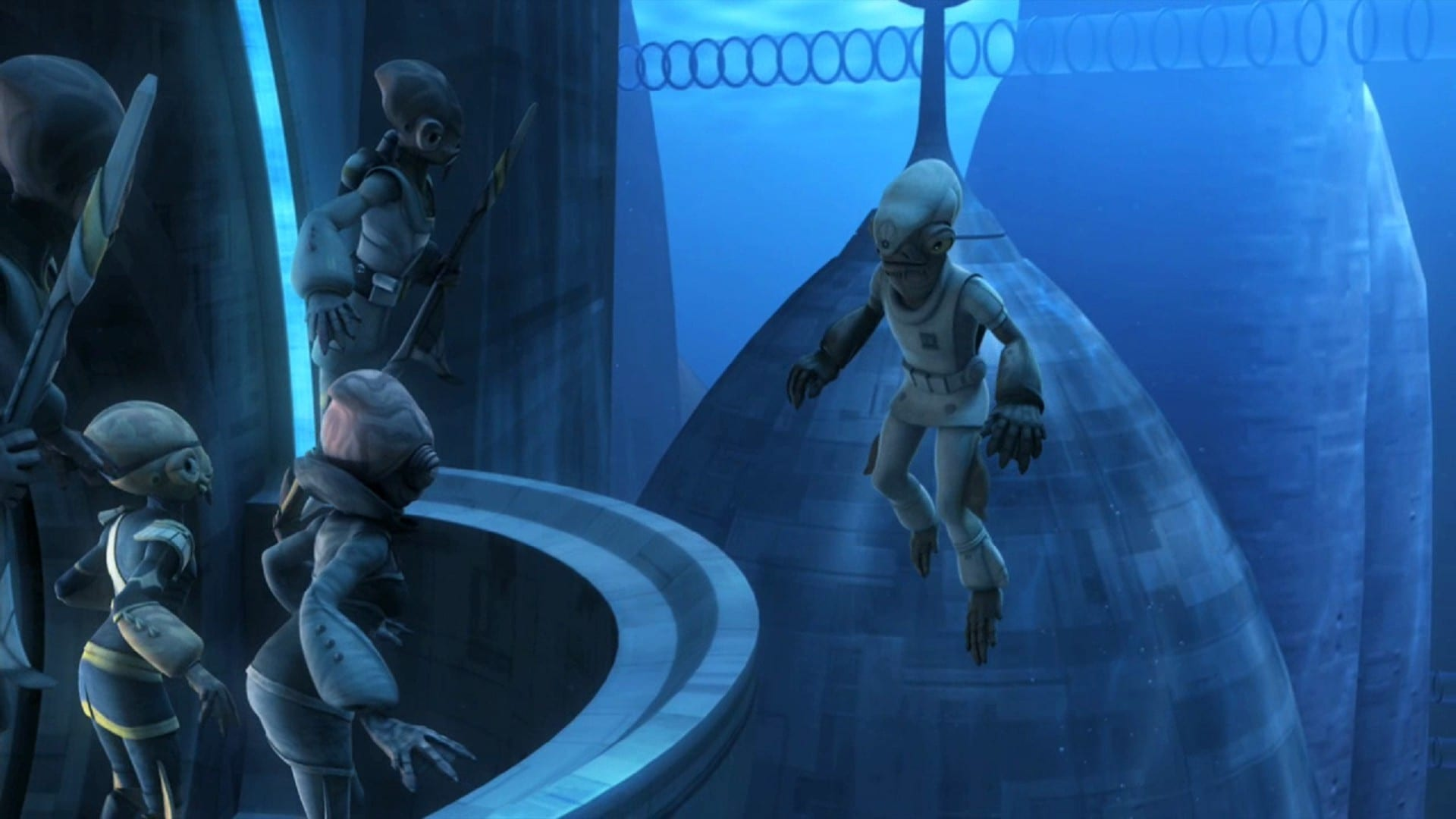 Star Wars: The Clone Wars - Season 4 Episode 1 : Water War