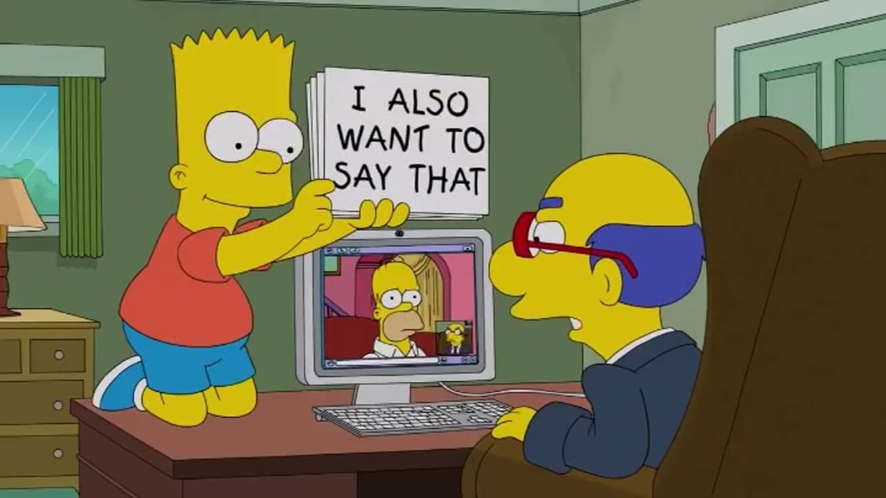 The Simpsons Season 24 :Episode 13  Hardly Kirk-ing