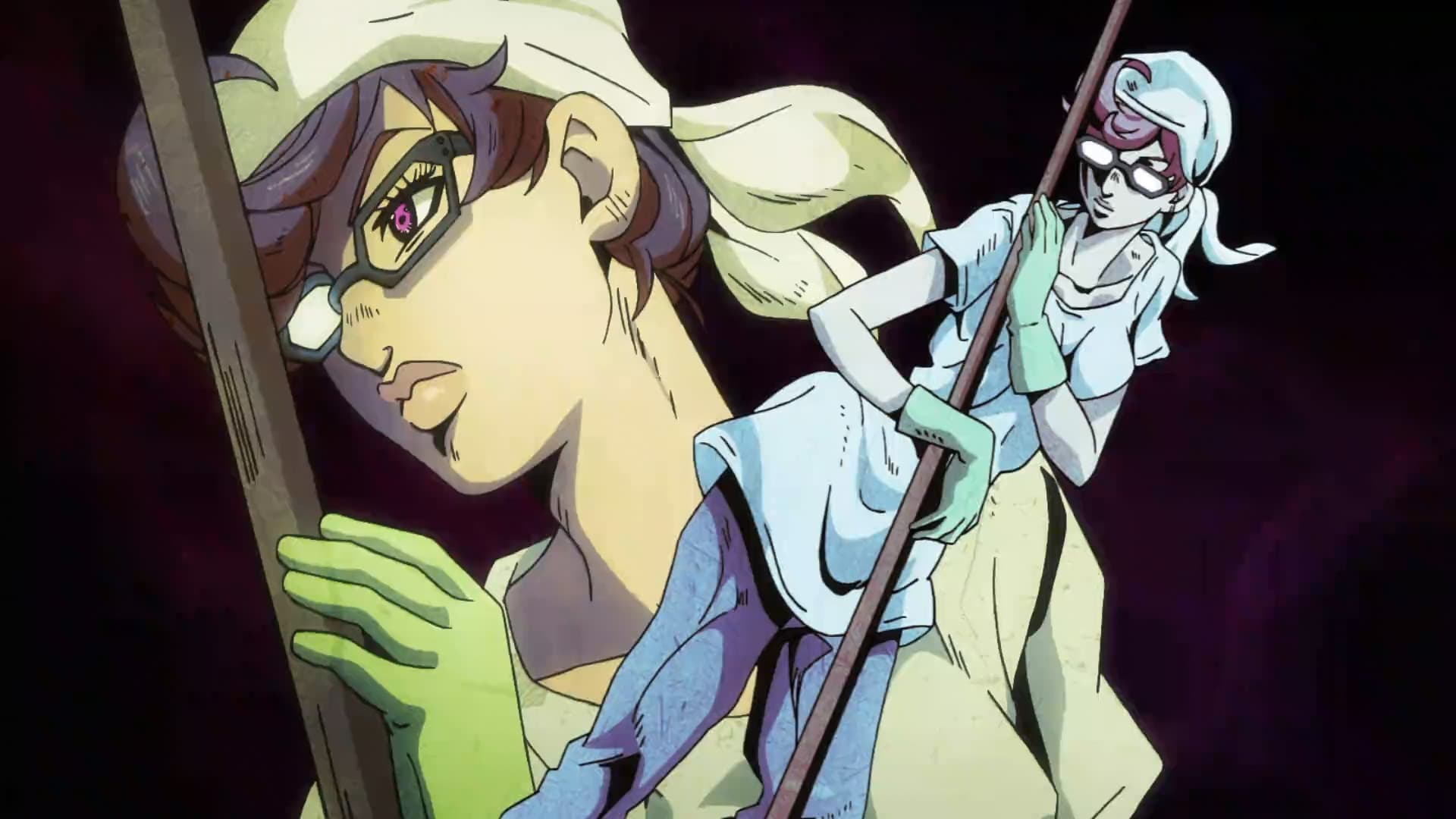 JoJo's Bizarre Adventure Season 4 :Episode 9  The First Mission From the Boss