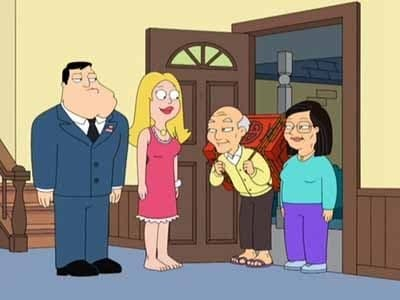 American Dad! Season 4 :Episode 4  Big Trouble in Little Langley