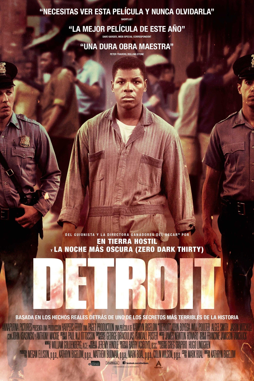 Póster Detroit