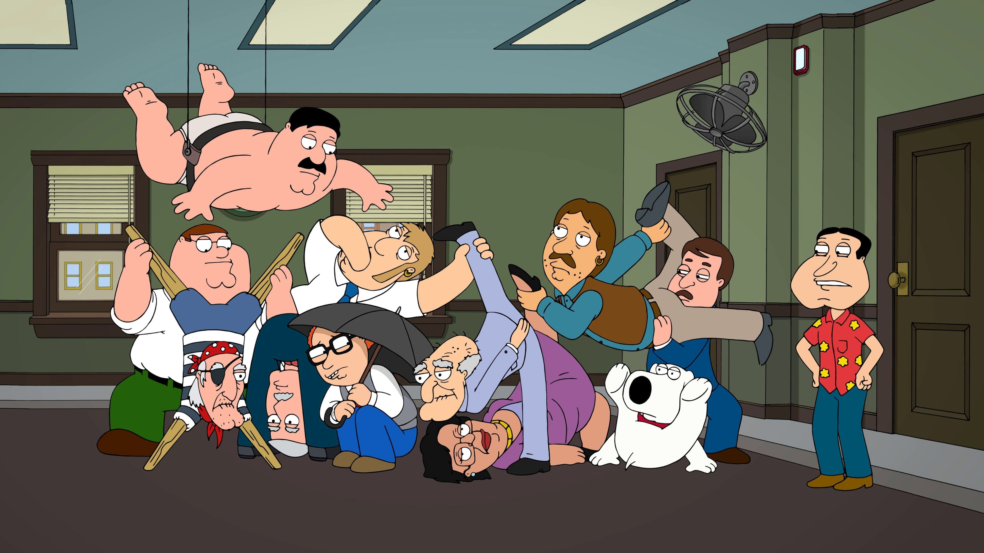 Family Guy Season 11 :Episode 16  12 and a Half Angry Men