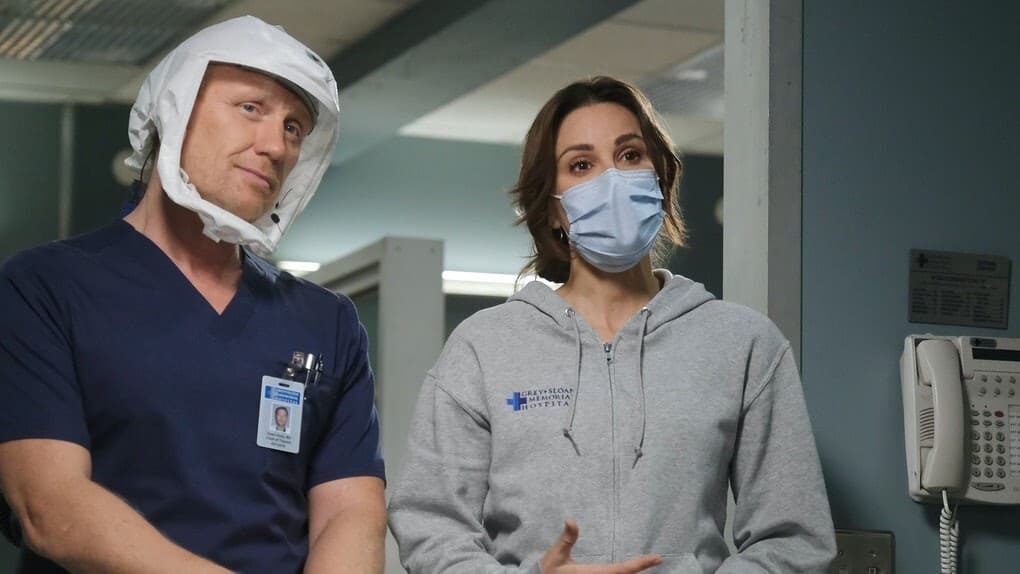 Grey's Anatomy - Season 17 Episode 8 : It's All Too Much