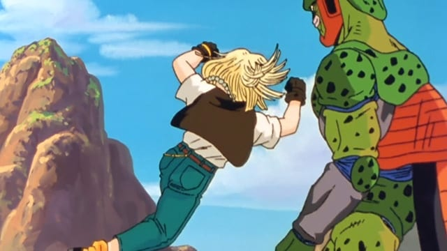 Dragon Ball Z Kai Season 4 :Episode 2  The Battle Turns for the Worst... Cell Attacks Android 18!