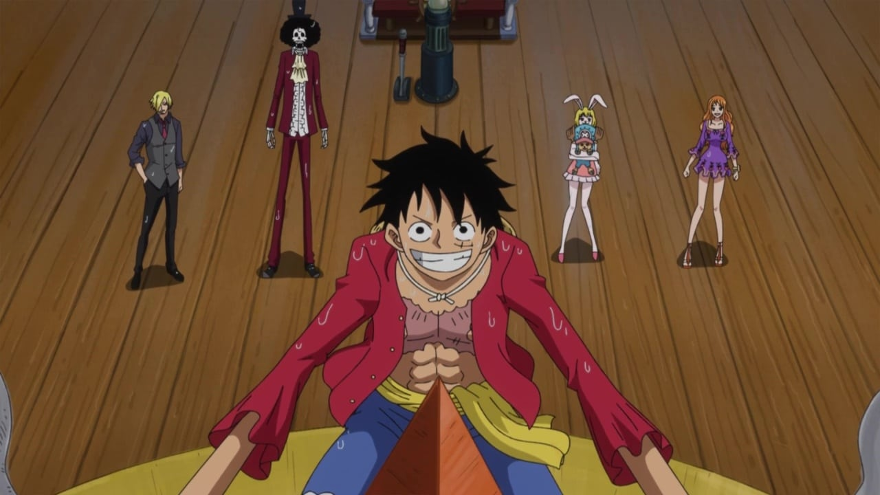 One Piece Season 20 :Episode 891  Climbing Up a Waterfall! A Great Journey Through the Land of Wano's Sea Zone!