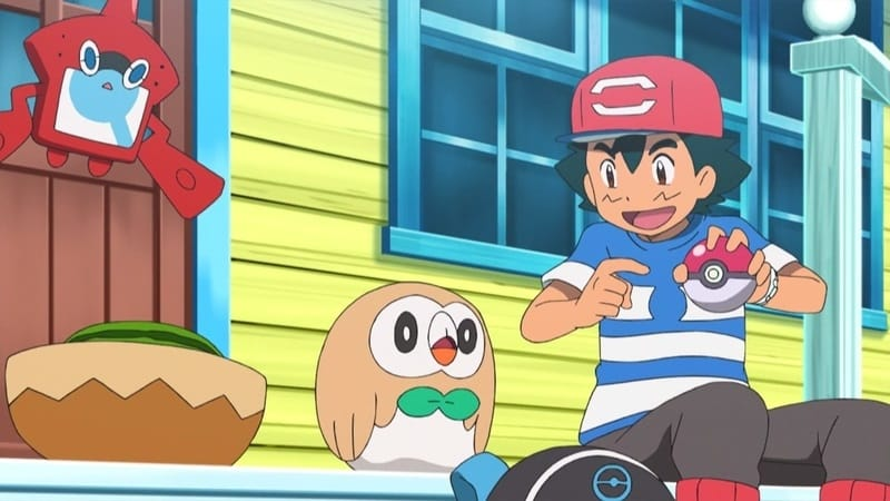 Pokémon Season 20 :Episode 4  First Catch in Alola, Ketchum-style!