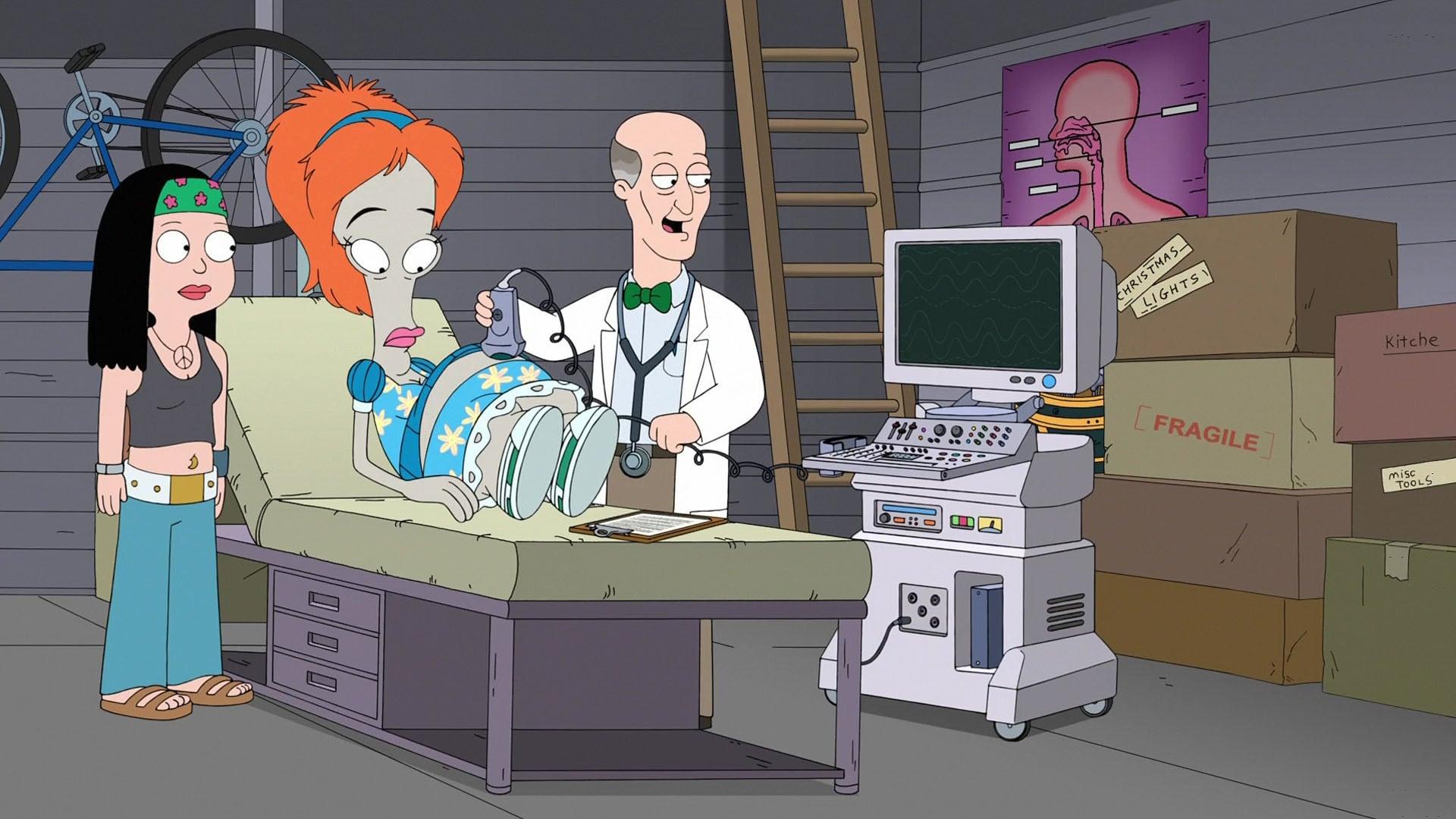 American Dad! Season 14 :Episode 6  Roger's Baby