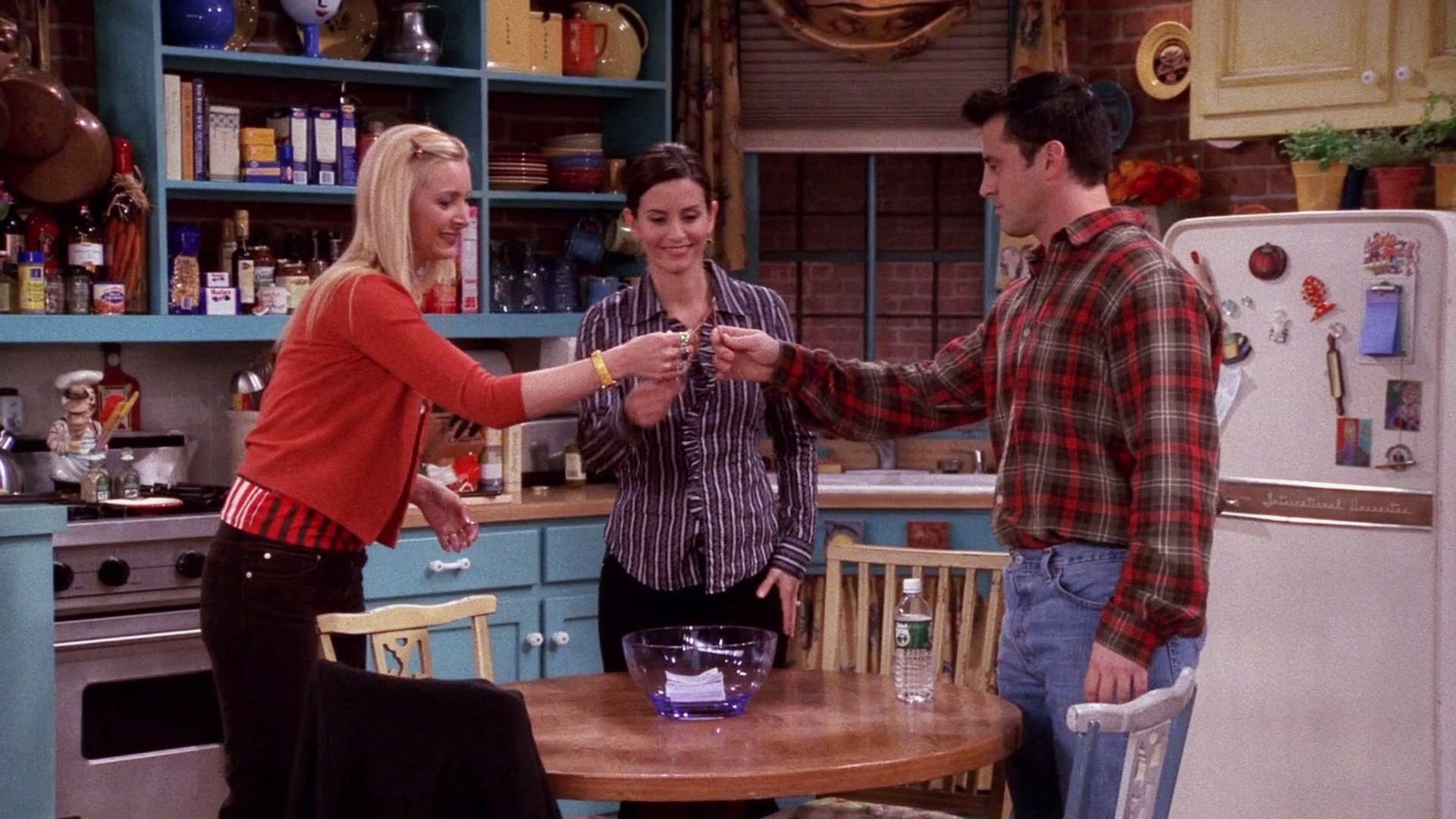 Friends Season 9 :Episode 18  The One with the Lottery