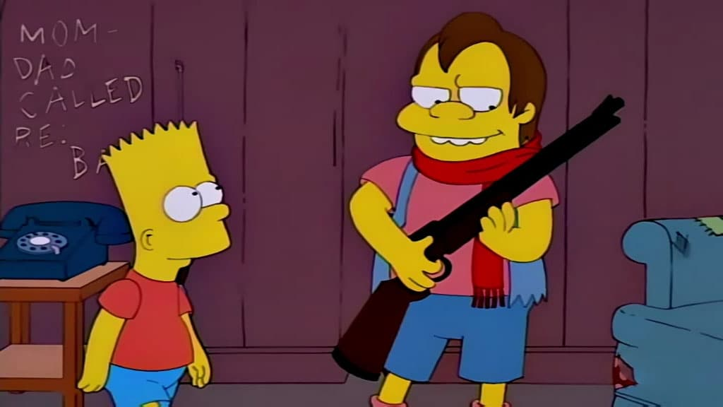 The Simpsons Season 10 :Episode 3  Bart the Mother