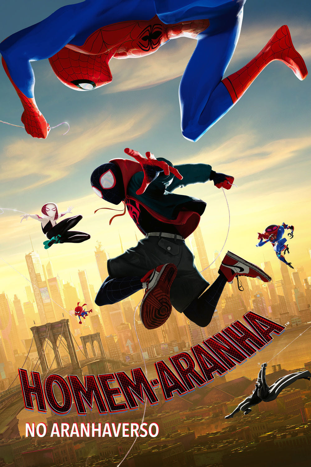 Homem-Aranha no Aranhaverso (2019) Torrent - BluRay 720p e 1080p Dublado / Dual Áudio 5.1 Download