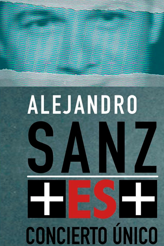 Póster Alejandro Sanz  + ES +