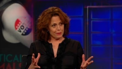 Season 17 :Episode 125  Sigourney Weaver