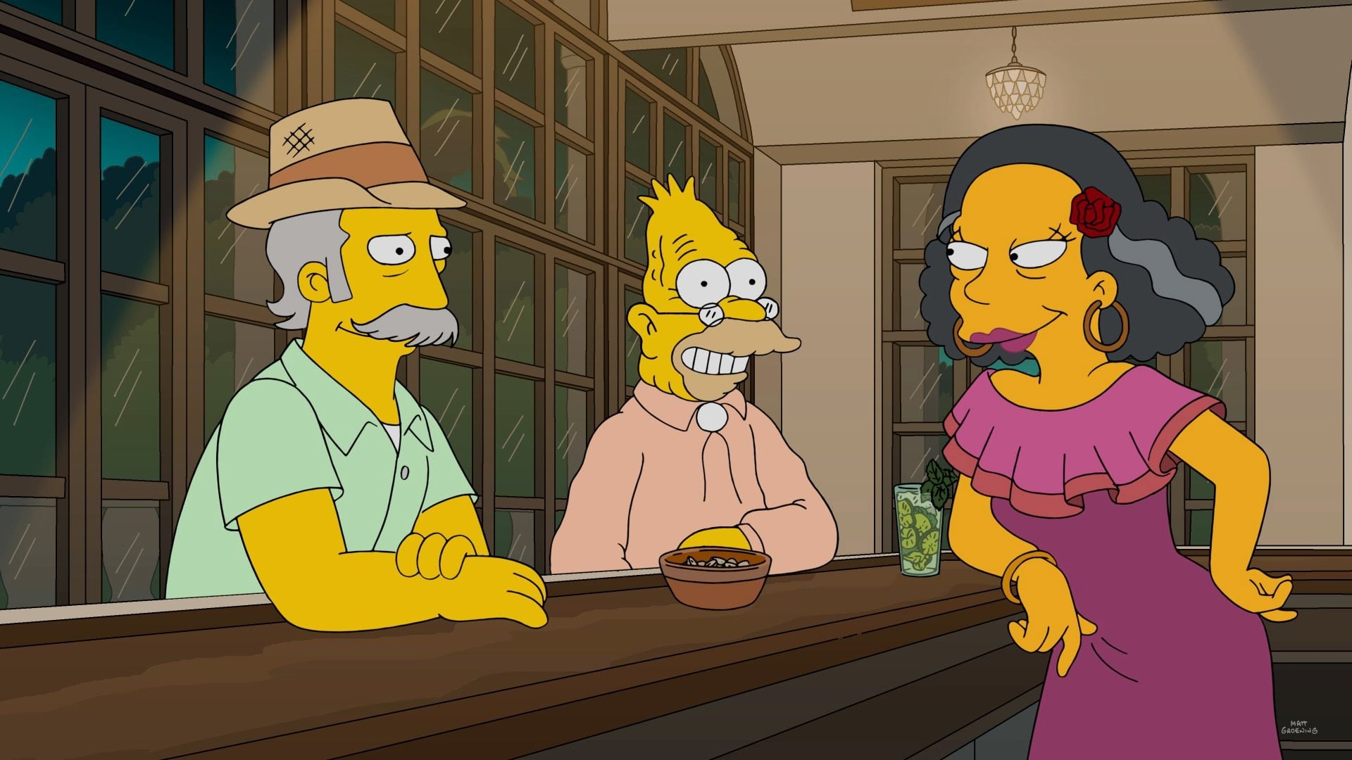 The Simpsons Season 28 :Episode 7  Havana Wild Weekend