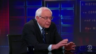 The Daily Show with Trevor Noah Season 16 :Episode 55  Bernie Sanders
