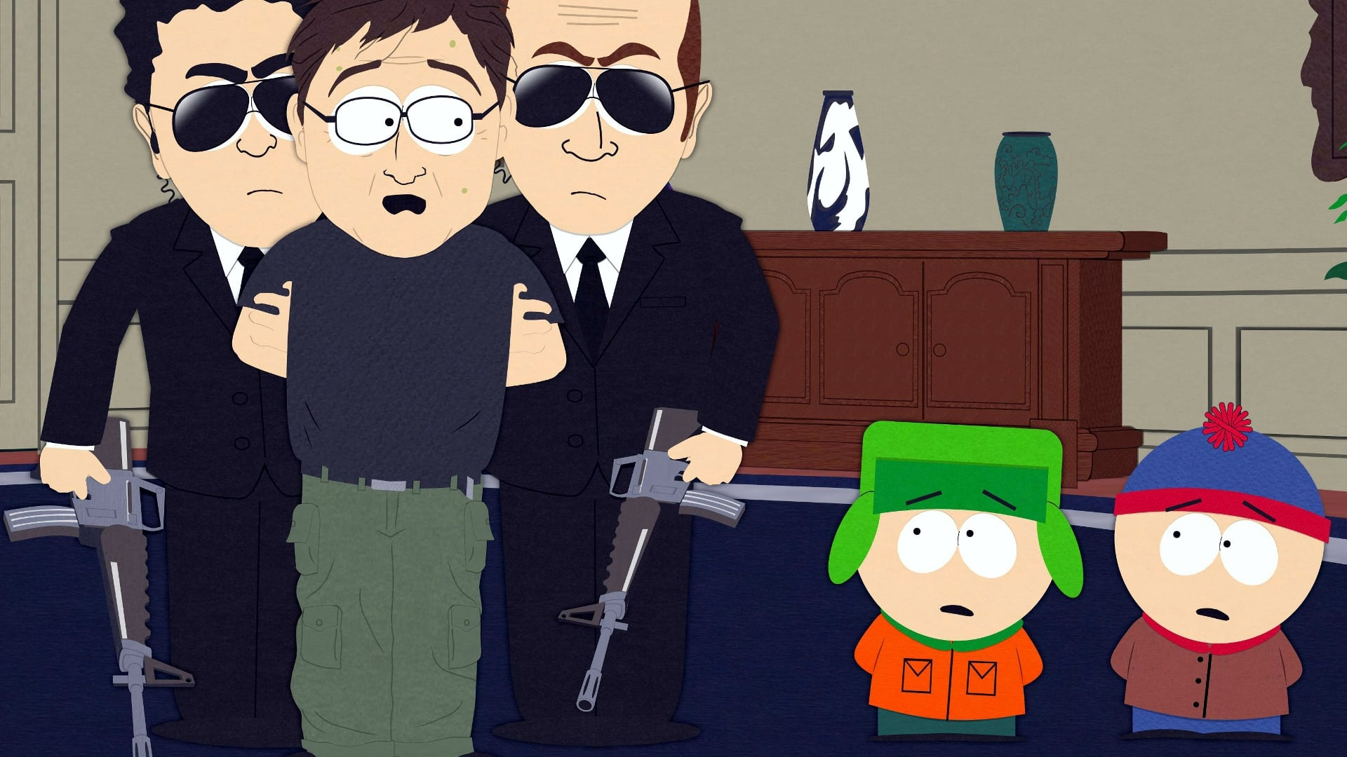 South Park Season 10 :Episode 9  Mystery of the Urinal Deuce