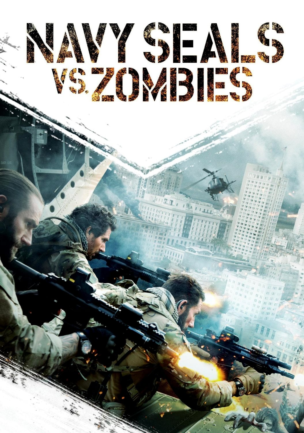 Póster Navy Seals vs. Zombies