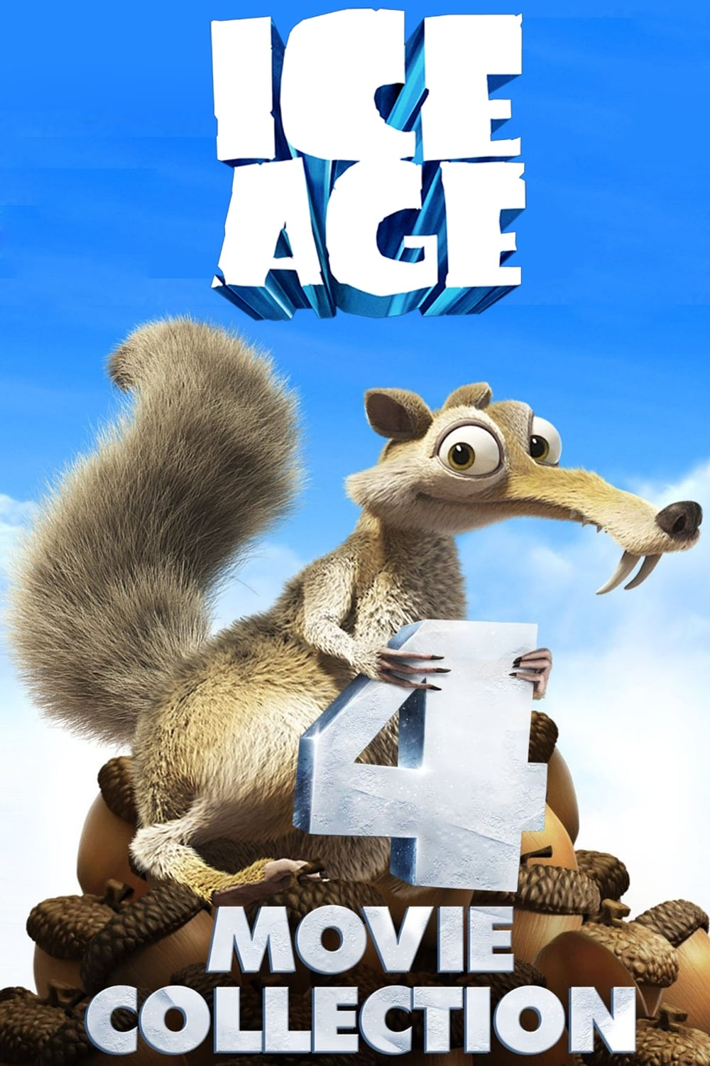 all movies from ice age collection saga are on movies film