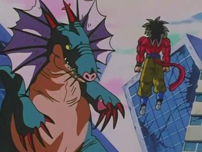 Dragon Ball GT Season 1 :Episode 53  Saying Goodbye