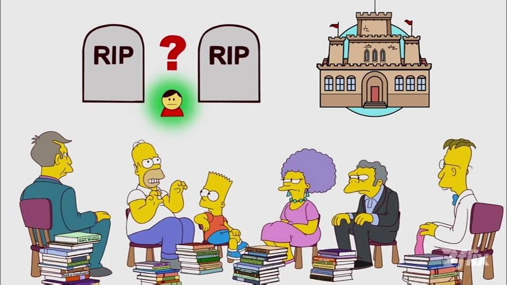 The Simpsons Season 23 :Episode 6  The Book Job