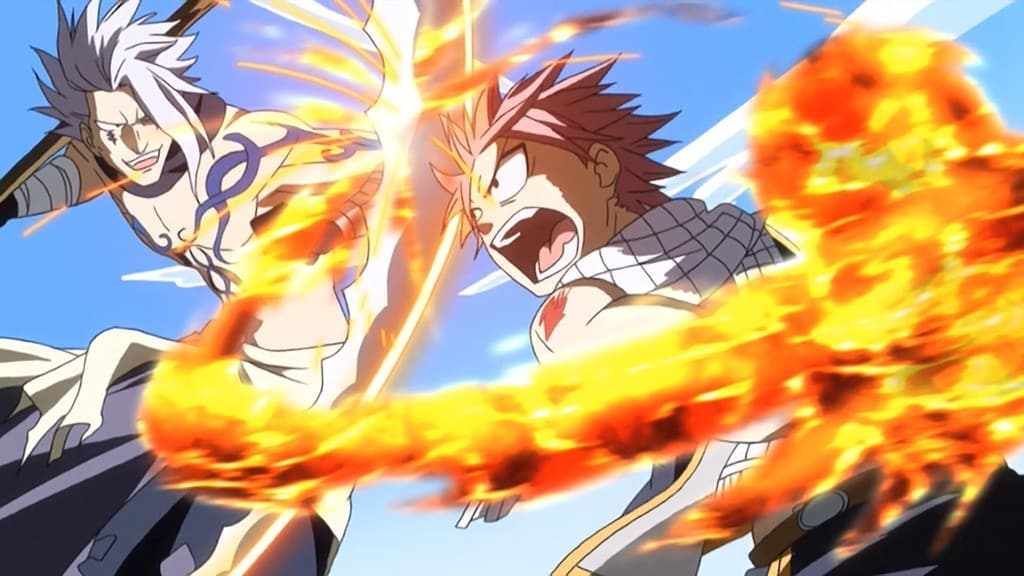 Fairy Tail Season 1 :Episode 7  Flammen und Wind