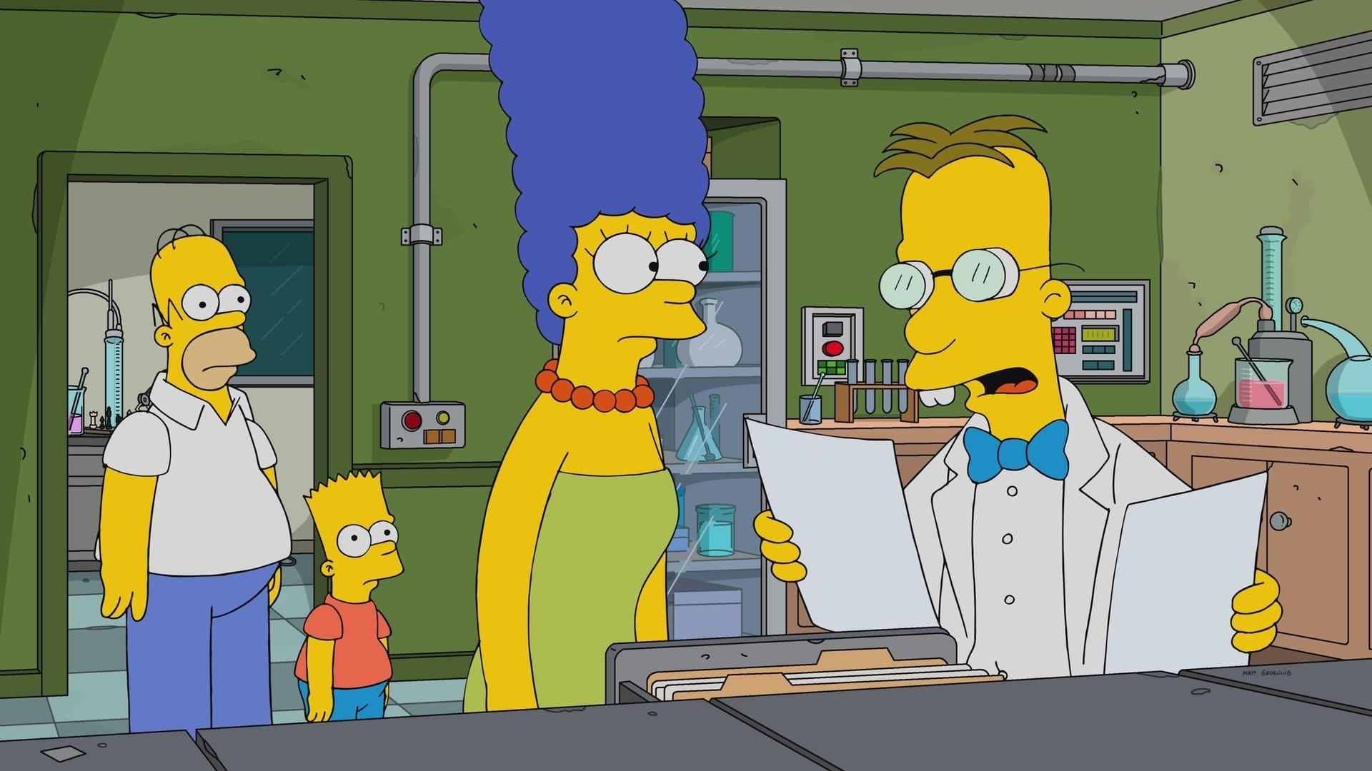 The Simpsons Season 29 :Episode 11  Frink Gets Testy