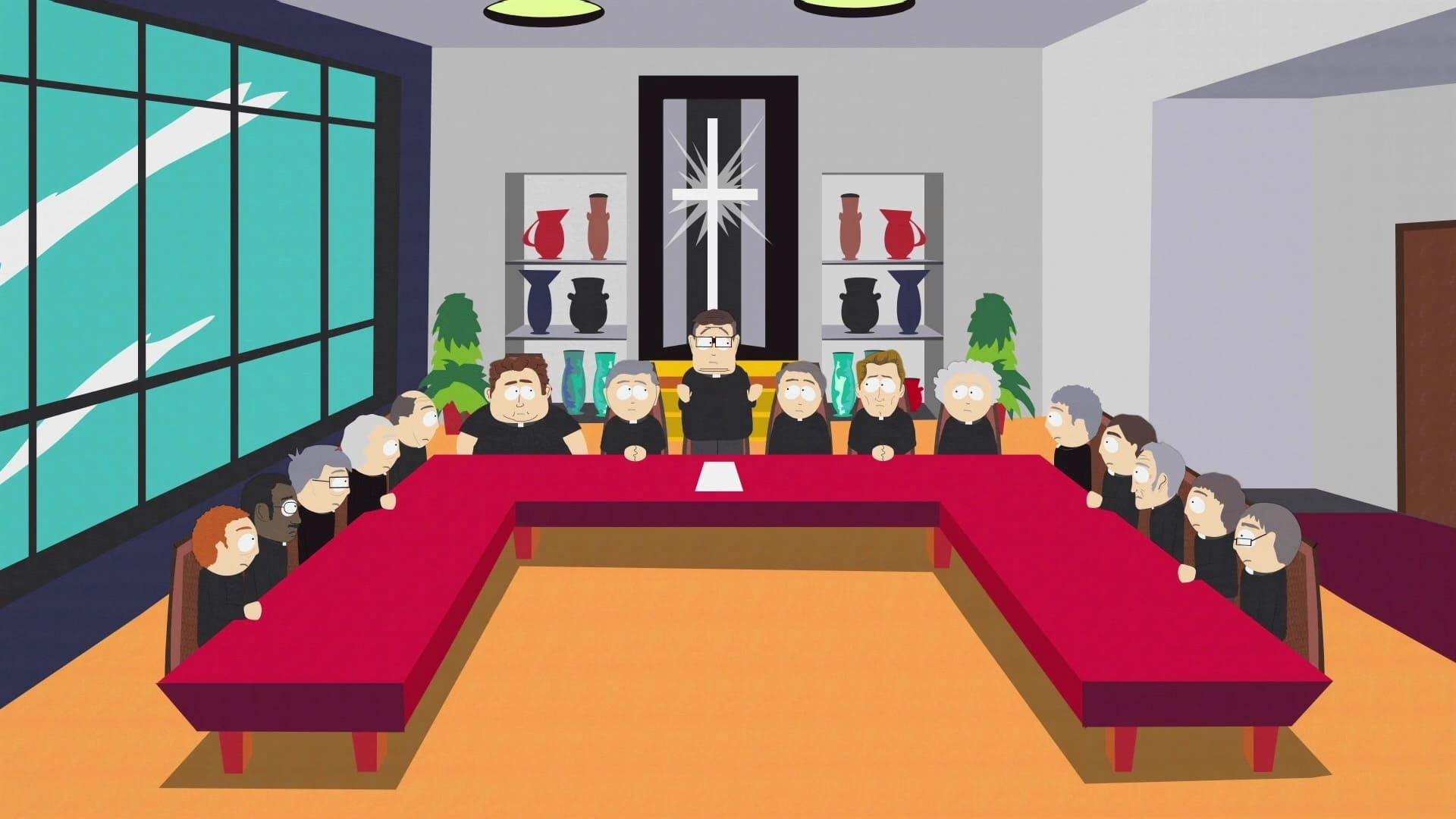 South Park Season 6 :Episode 8  Red Hot Catholic Love
