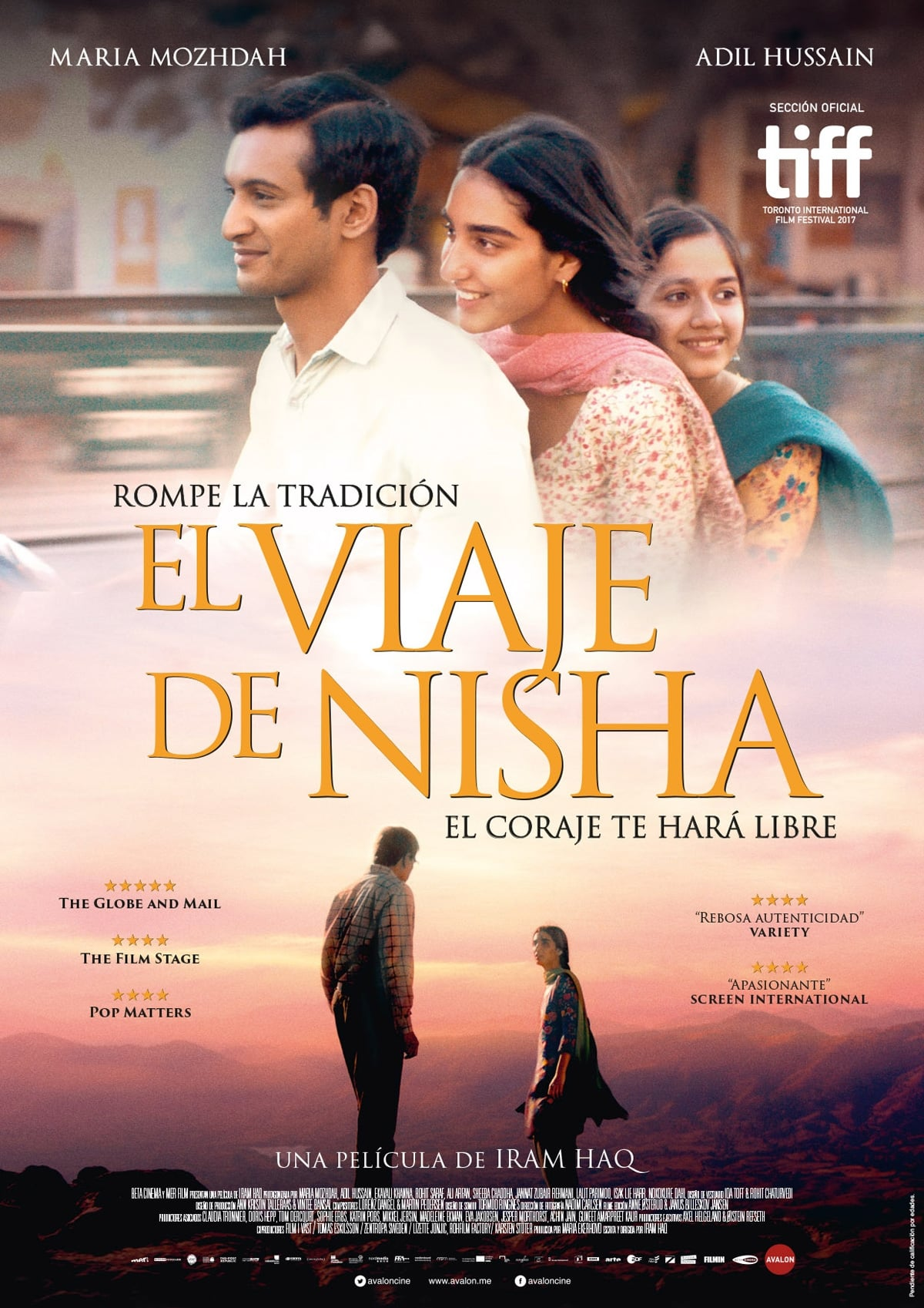Póster El viaje de Nisha