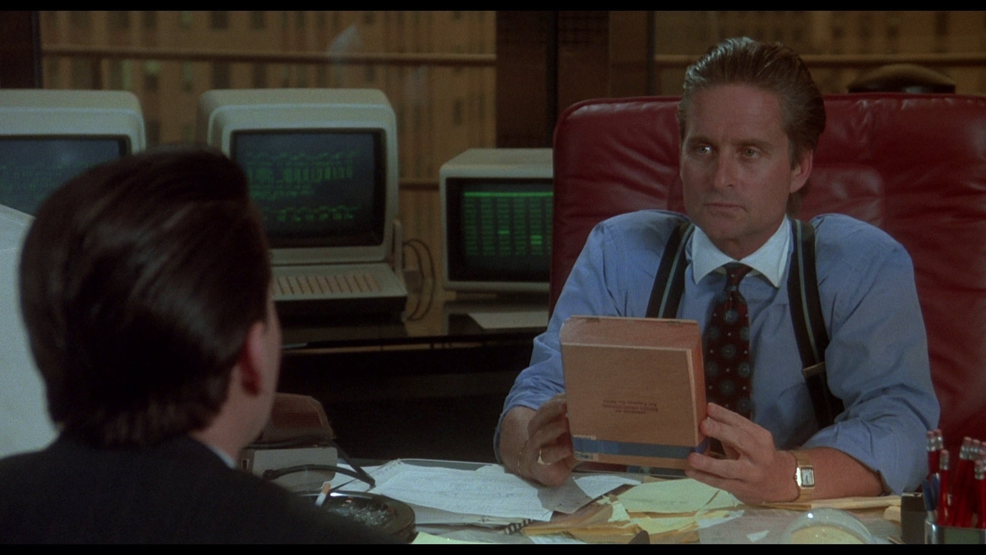 wall street 1987 essay With his 1987 classic, wall street, director oliver stone gave the world a morality tale—only to watch a generation of would-be gordon gekkos get the wrong message michael lewis explores the.