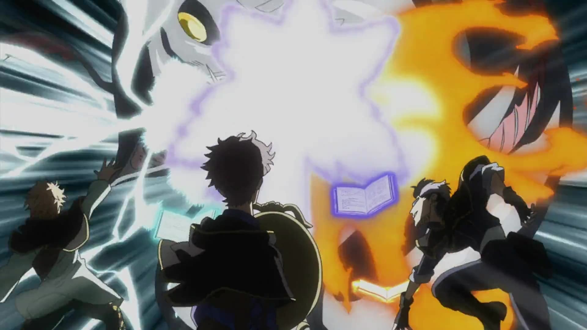 Black Clover Season 1 :Episode 42  The Underwater Temple