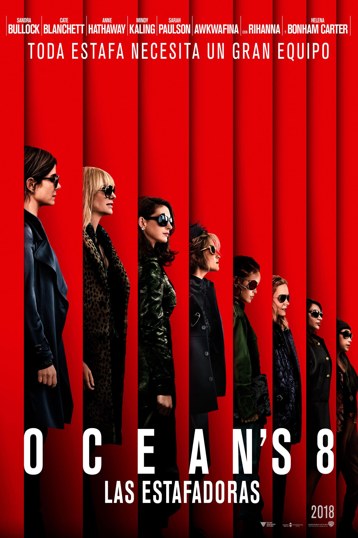 Póster Ocean's 8