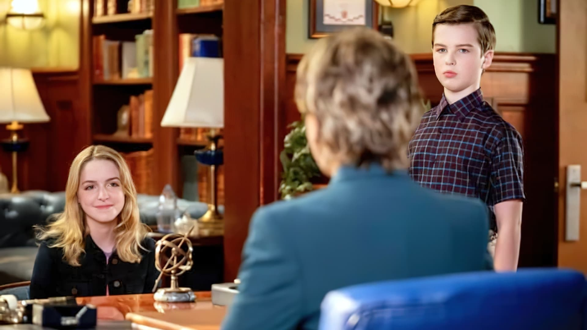 Young Sheldon - Season 4 Episode 16 : A Second Prodigy and the Hottest Tips for Pouty Lips
